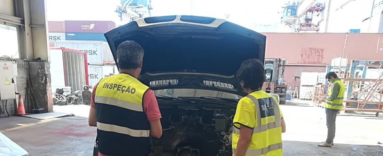 Autoridades portuguesas e espanholas promovem ação de controlo dos transportes de resíduos