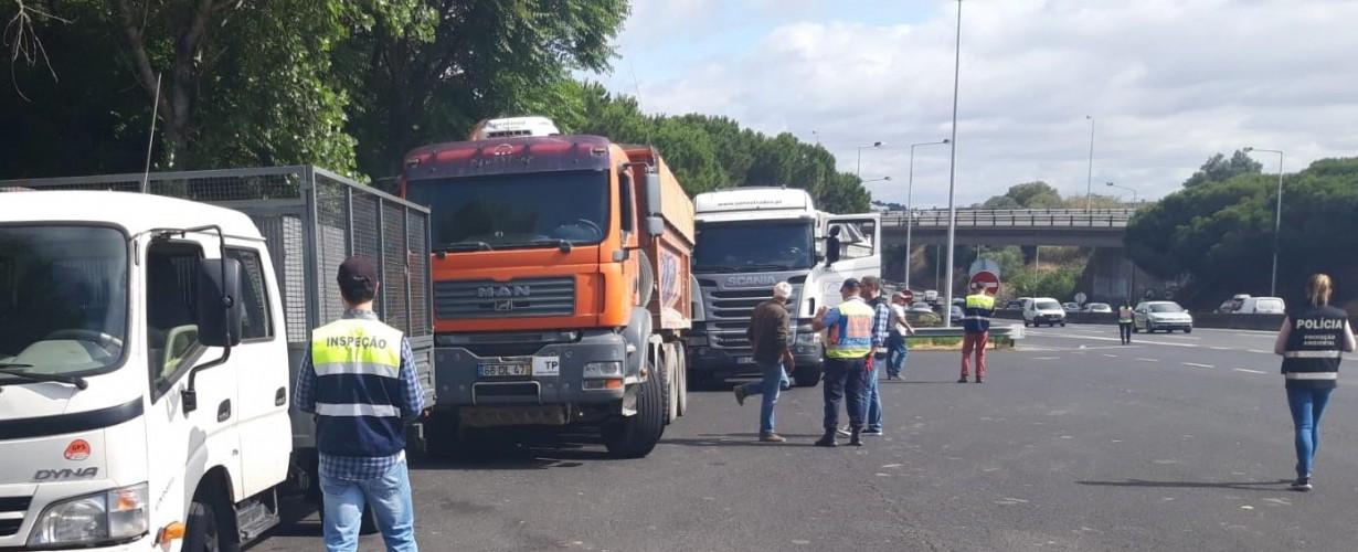 2ª AÇÃO DE CONTROLO DE TRANSPORTES DE RESÍDUOS EM 2019